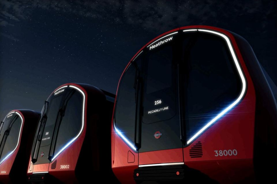 London's New Underground Trains Are Awesome