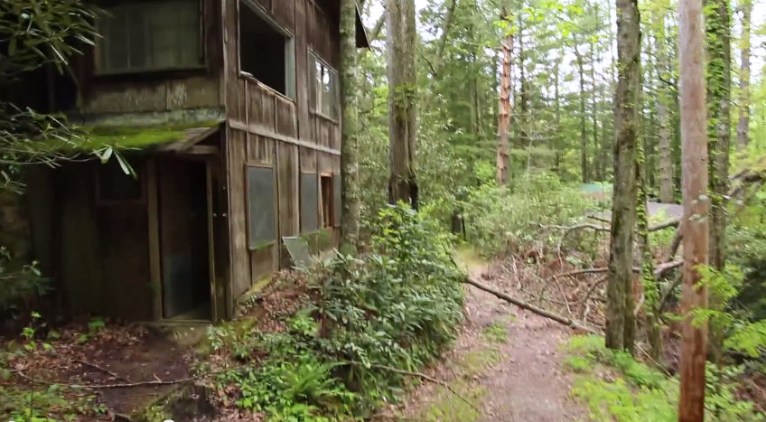 Abandoned Town Inside Great Smoky Mountains