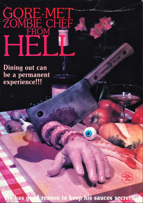 Gore-met, Zombie Chef from Hell - 1986