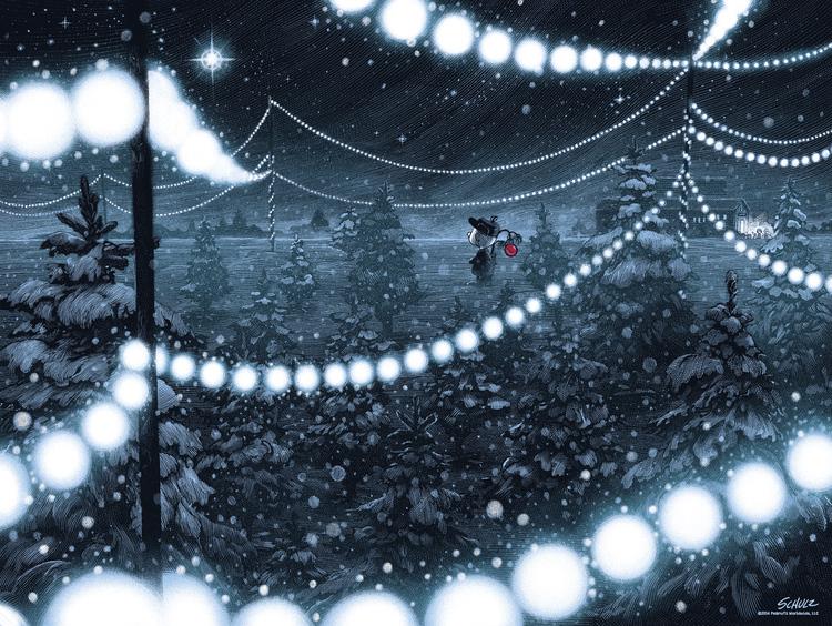 A CHARLIE BROWN CHRISTMAS Art