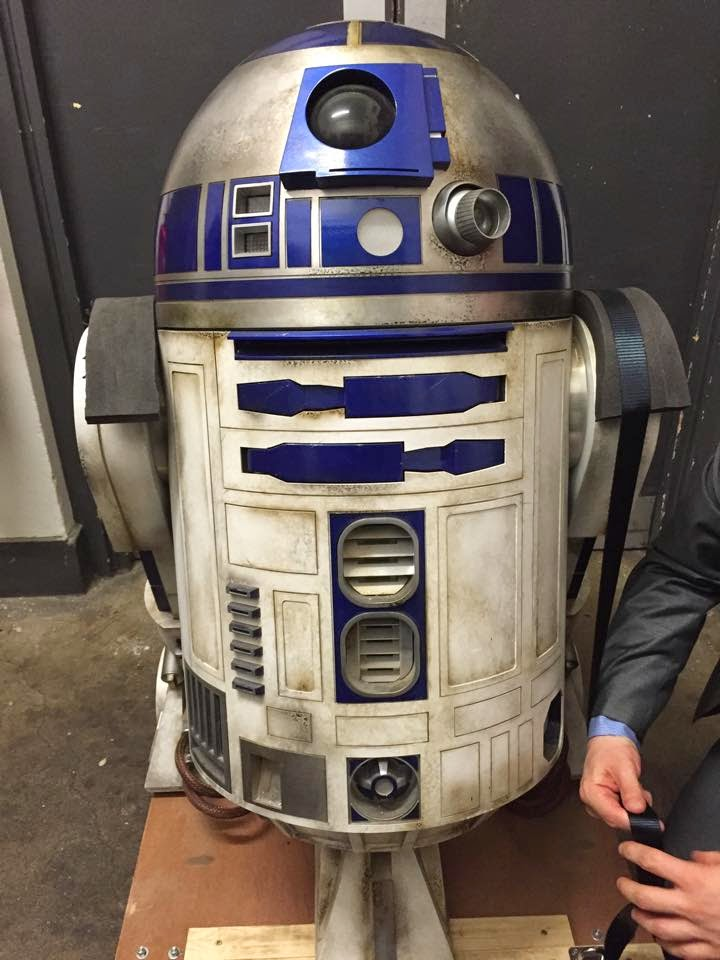 R2-D2 Unit Used in STAR WARS EPISODE VII (1)