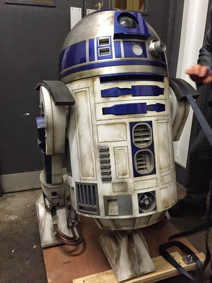 R2-D2 Unit Used in STAR WARS: EPISODE VII