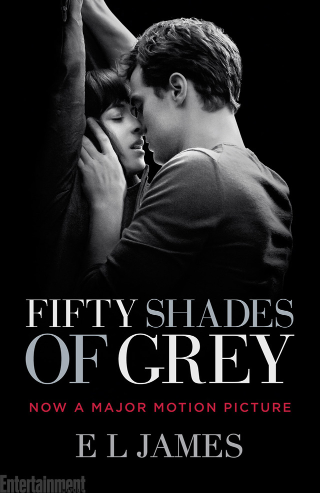 Fifty shades of grey novel with a tie in cover for Fifty shades of grey 2