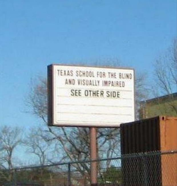 21 most useless signs