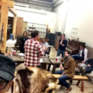 Quentin Tarantino's The Hateful Eight First Behind-the-Scenes Image