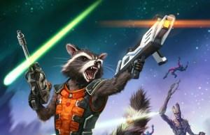 Rocket Racoon and Groot Fan Art