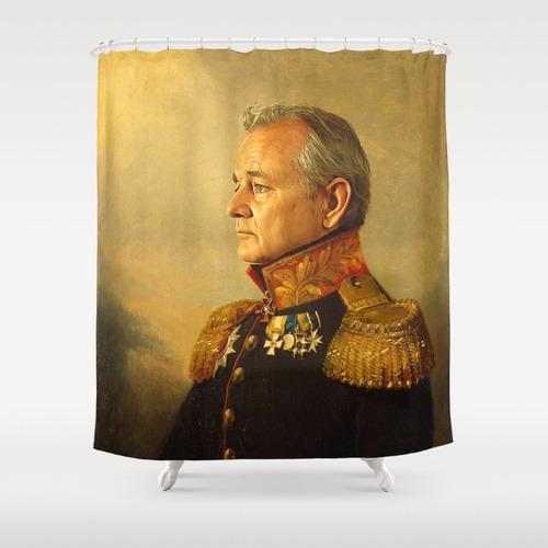 Bill Murray Shower Curtain