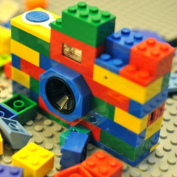 8MP Camera Made With LEGO