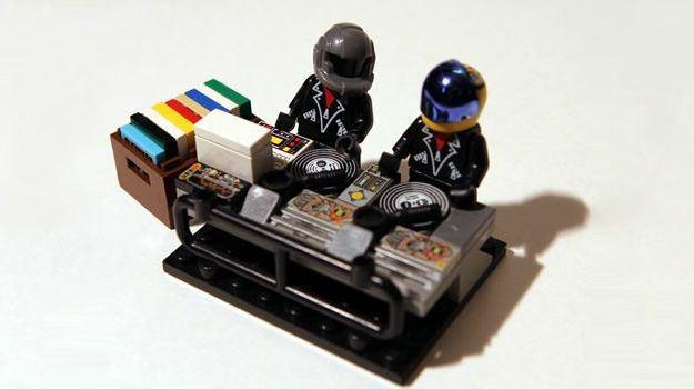 Daft Punk-Inspired Lego