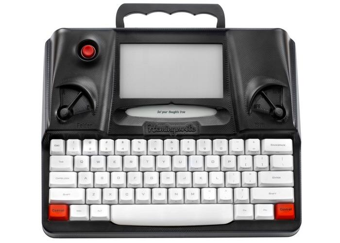 Hemingwrite Digital Typewriter (video)