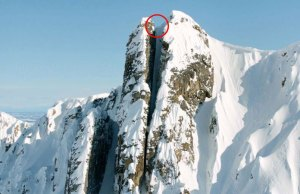Insane Straight Line For Skiing