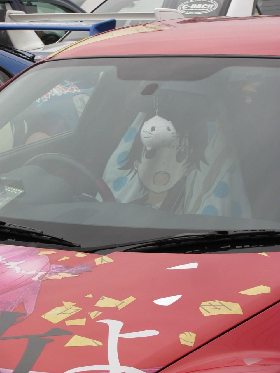 Japanese Anime Themed Cars