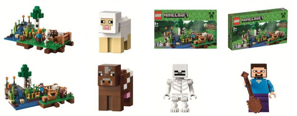 Minecraft 2014 Lego Sets