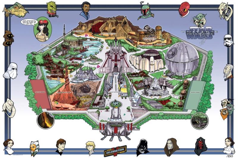 Star Wars Theme Park Update