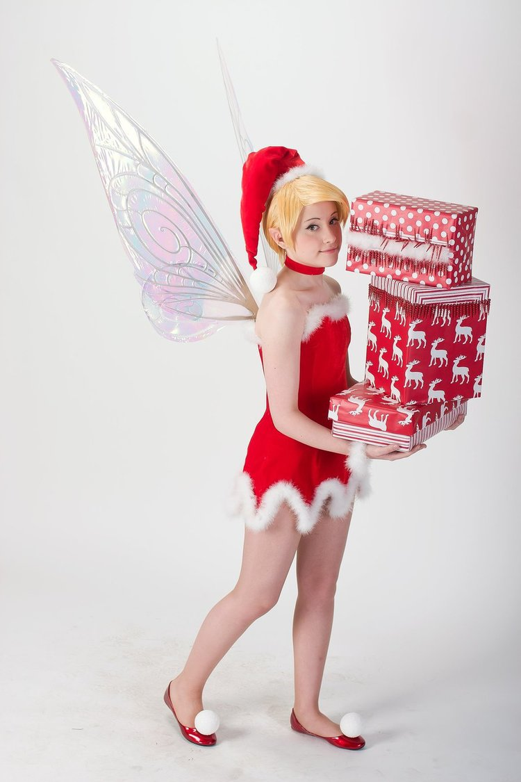 Tinkerbell Christmas Cosplay