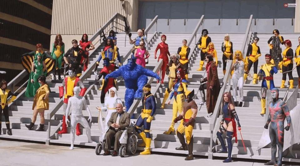 X-Men Epic Cosplay Video