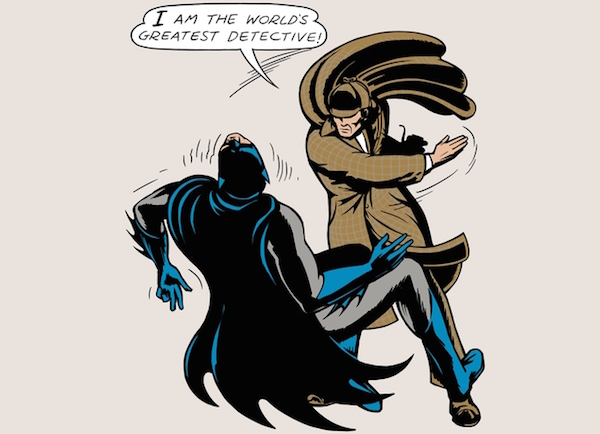 Batman Tasted His Own Medicine By Sherlock