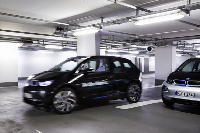 BMW Announces New Self Parking Technology