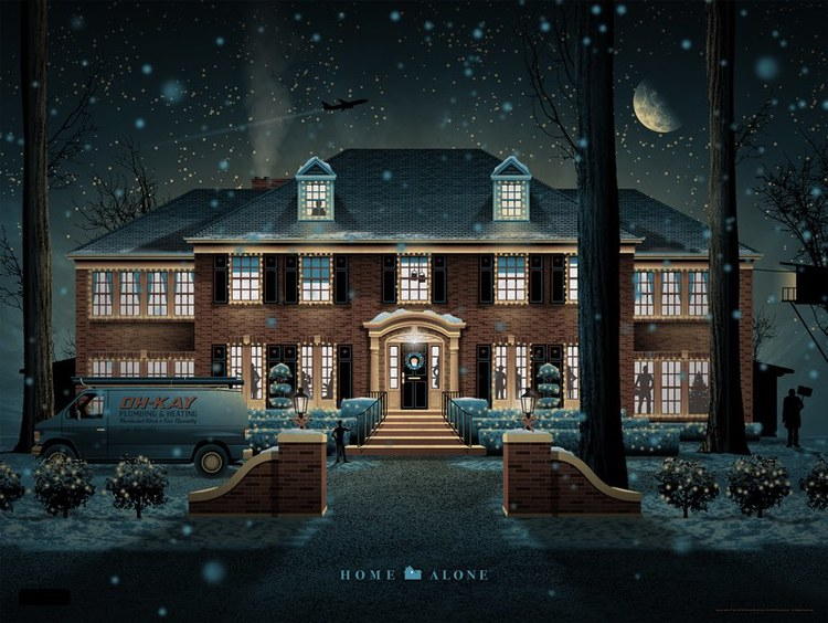 Mondo HOME ALONE Art Print by DKNG