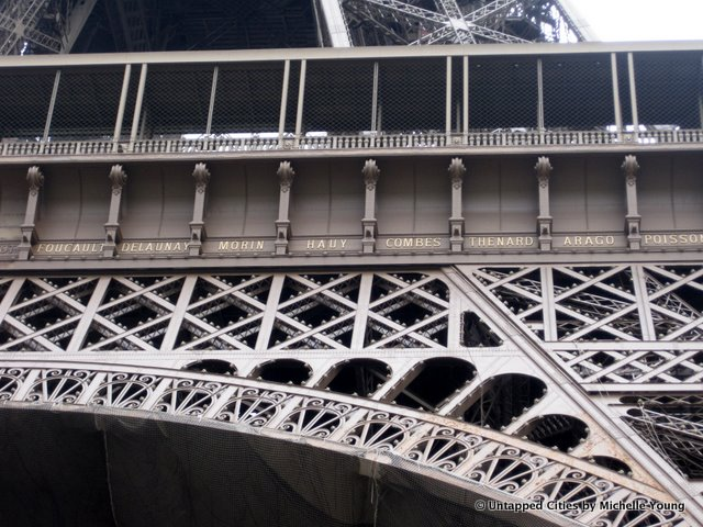 There Are Names on the Eiffel Tower