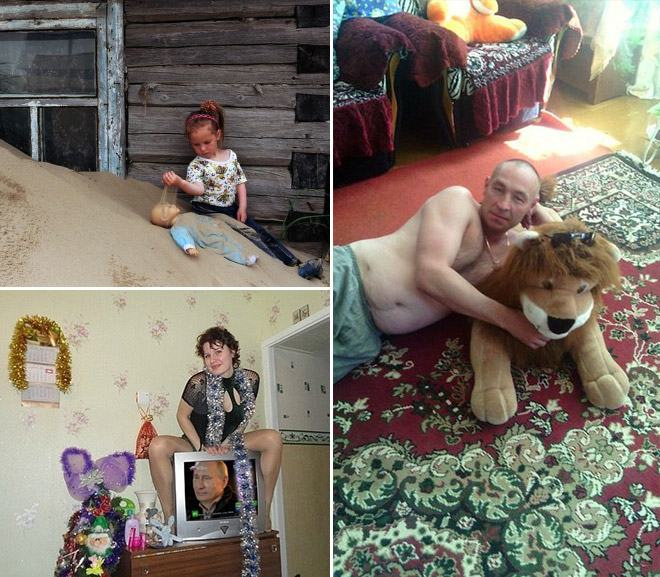 Hilarious Pictures From  Russian Social Networks