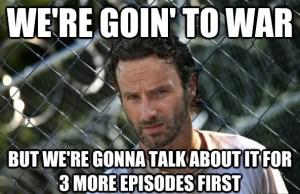 The Walking Dead goofs