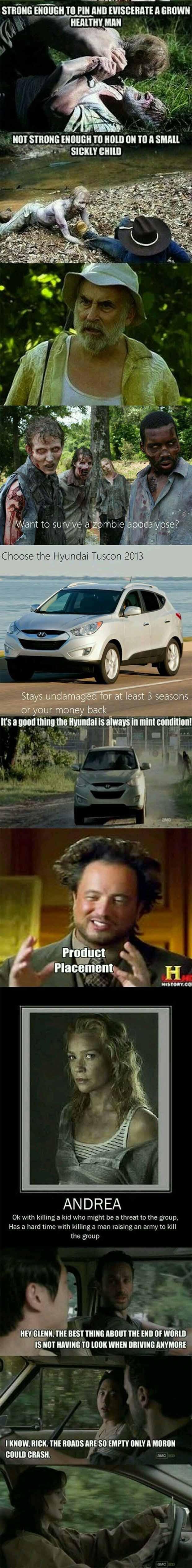 The Walking Dead Logic