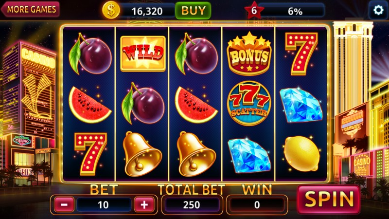 3D slot game