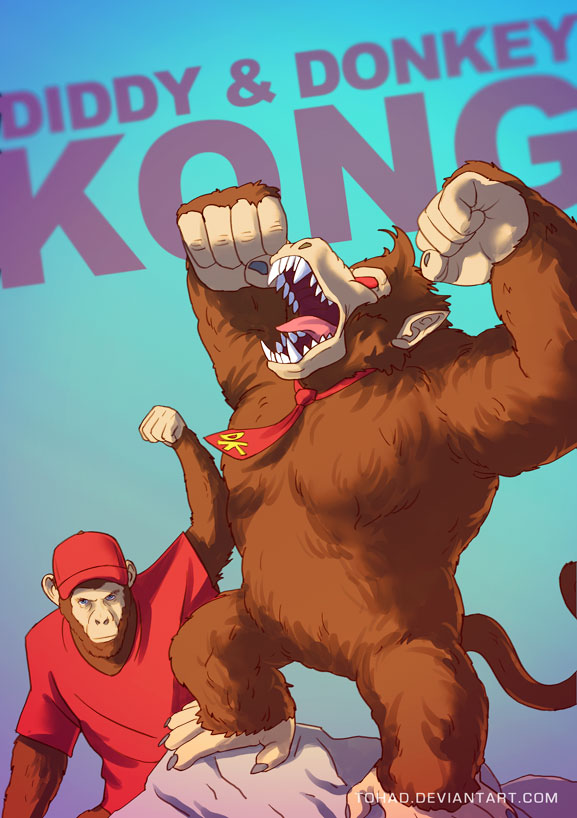 King Kong badass cartoons