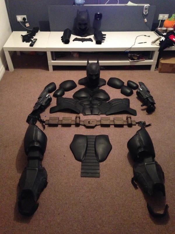 BATMAN ARKHAM ORIGINS 3D Printed Costume