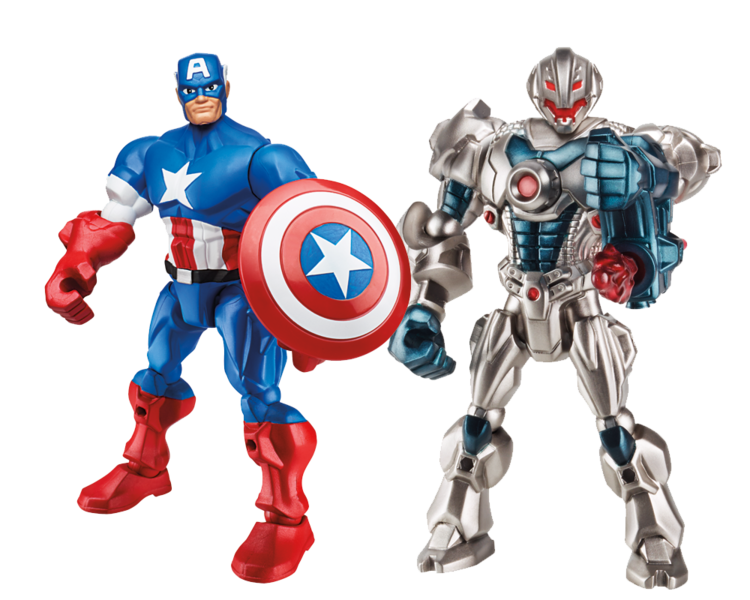 Five Avengers Smashed into One Action Figure