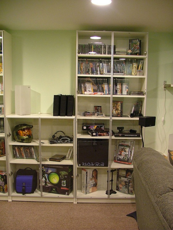 Game collection of a hard core gamer