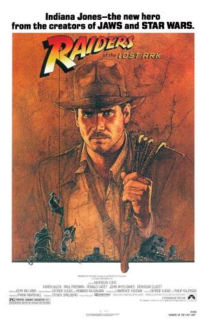 Indiana Jones, Raiders of the Lost Ark poster