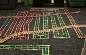 Most Amazing Dominoes Video Ever!