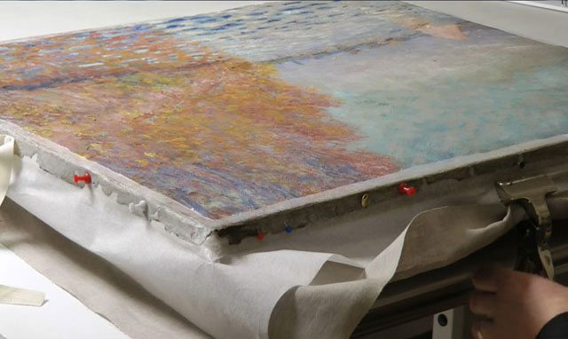 Want To Know How To Repair A$12 Million Monet (8)