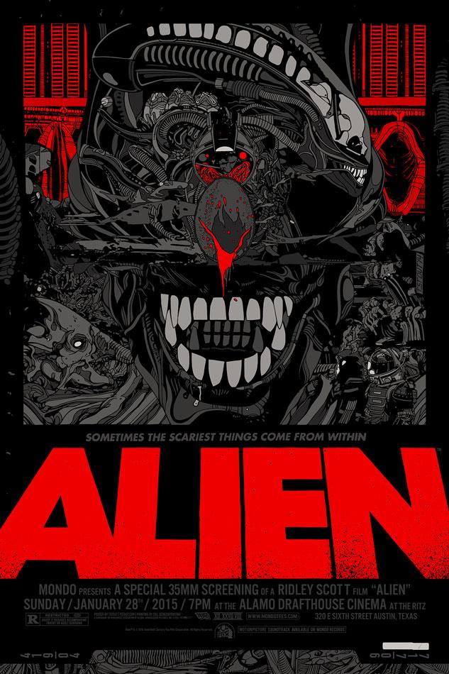 ALIEN Tribute PosterArt