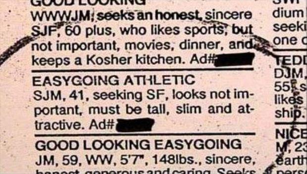 The Most WTF Classified ADS