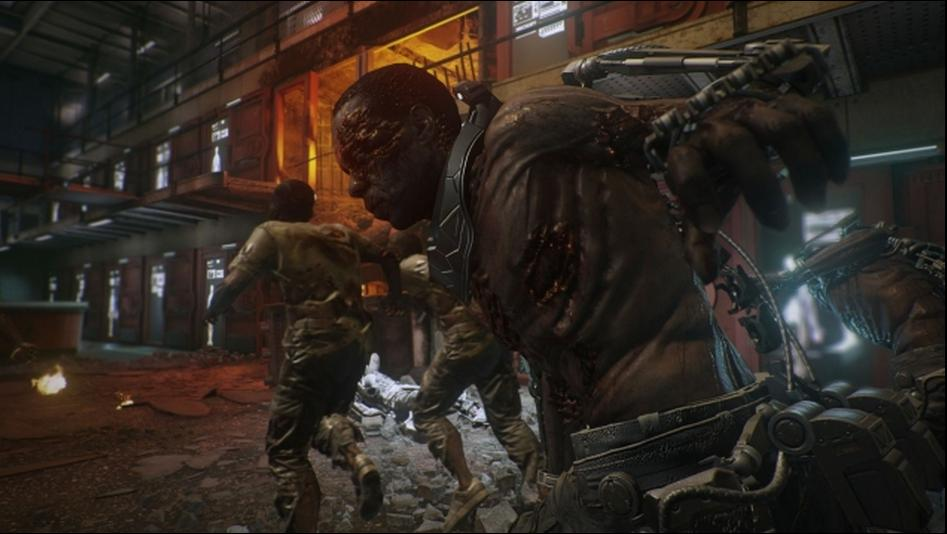 The New Call Of Duty Advanced Warfare Exo Zombies Trailer