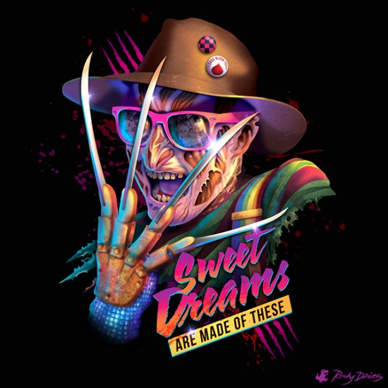 80s-Style Iconic Movie Villains Covers