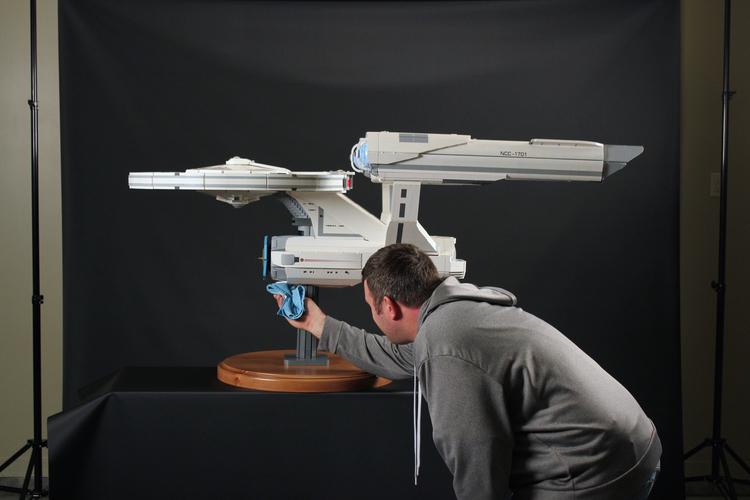 Awesome 5-Foot-Long LEGO USS Enterprise