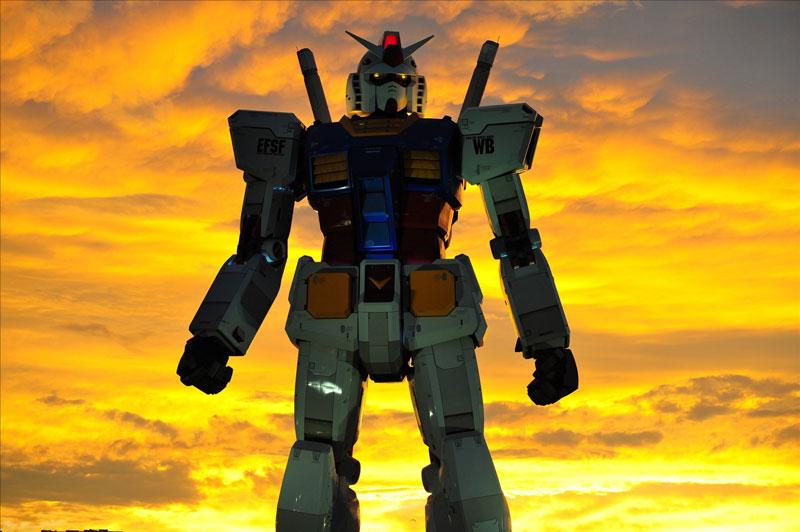 Full Scale Gundam Model