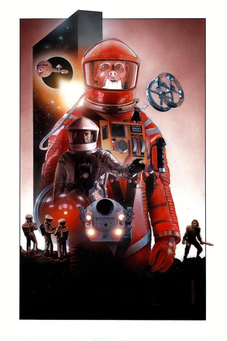 Sci-Fi Movie Art Series