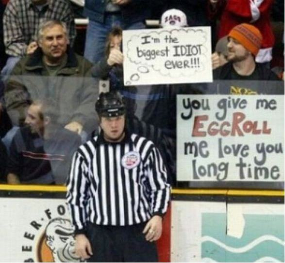 The Funniest Spectator Signboards Ever