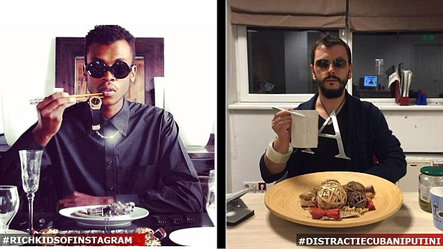 Romanian kids have started recreating their photos in more meager surroundings…