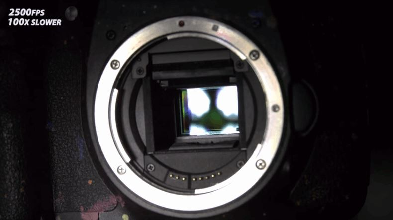 Watch How a Camera Shutter Works at 10,000 FPS