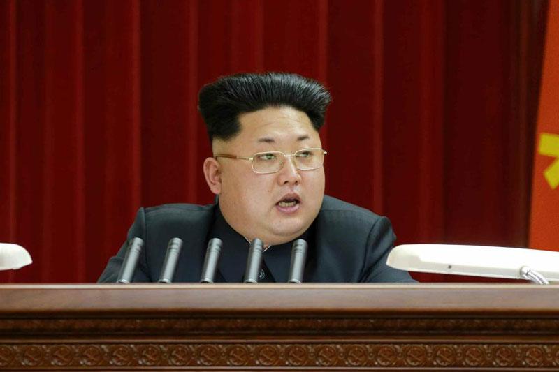 Kim Jong Un Gets Guile Haircut