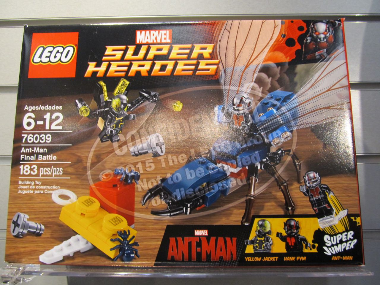 Toy Fair 2015: Ant-Man Lego Set