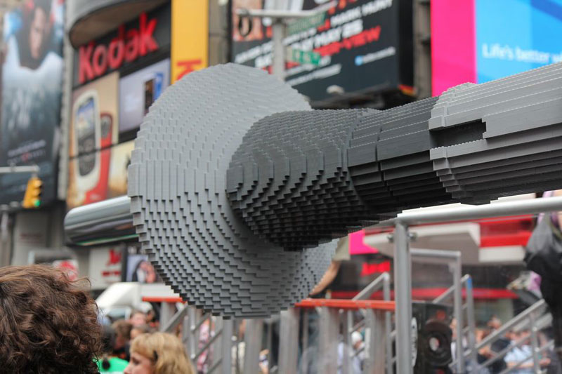 World's Largest LEGO Model: 5.3m Piece X-Wing