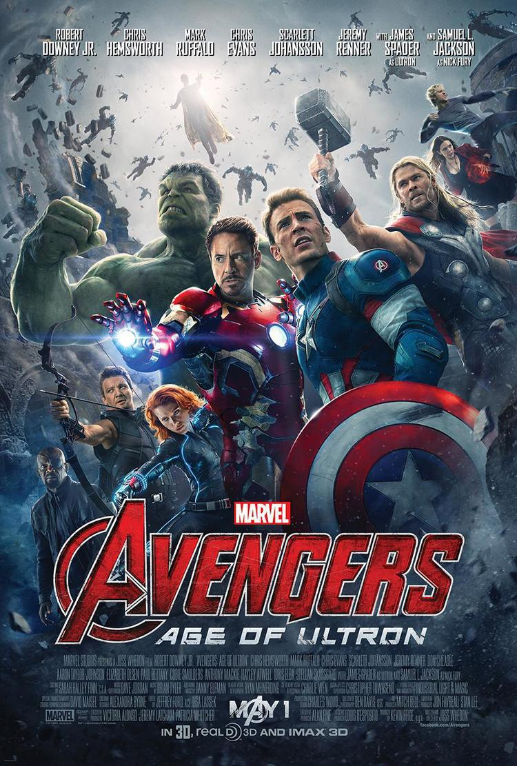 Marvel's AVENGERS: AGE OF ULTRON Official Poster Marvel's AVENGERS: AGE OF ULTRON Official Poster
