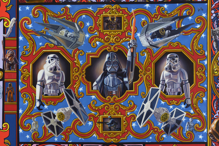 Highly Detailed STAR WARS Tribute